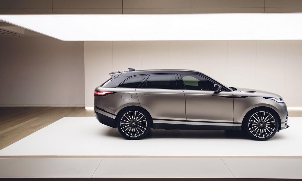 Jaguar Land Rover Cary Range Rover Velar Wins World Car Design Of