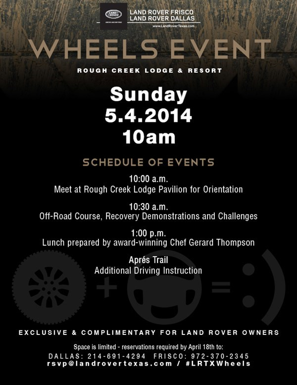Wheels Event