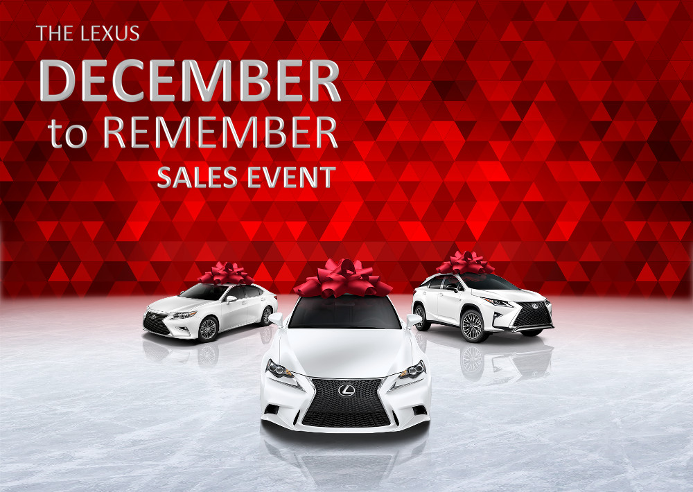 For More Information About The Lexus December To Remember Sales Event Or To  Schedule A Test Drive, Please Contact Our Sales Department.