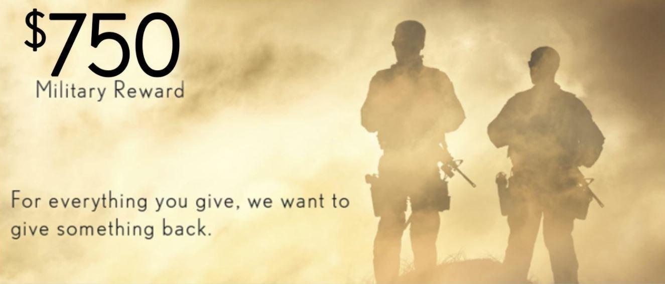 Military Reward