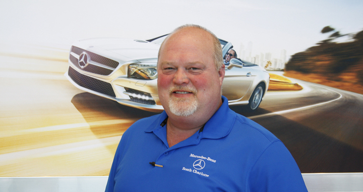Get to know barry whisnant for Felix sabates mercedes benz charlotte nc