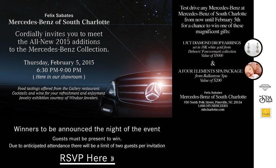 Felix sabates 39 mercedes benz of south charlotte january for Felix sabates mercedes benz charlotte nc