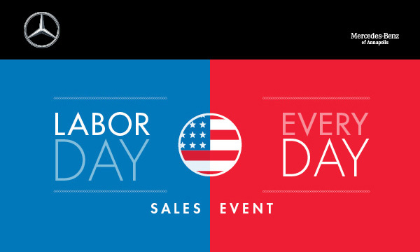 Mercedes benz of annapolis the labor day every day sales for Mercedes benz service annapolis md