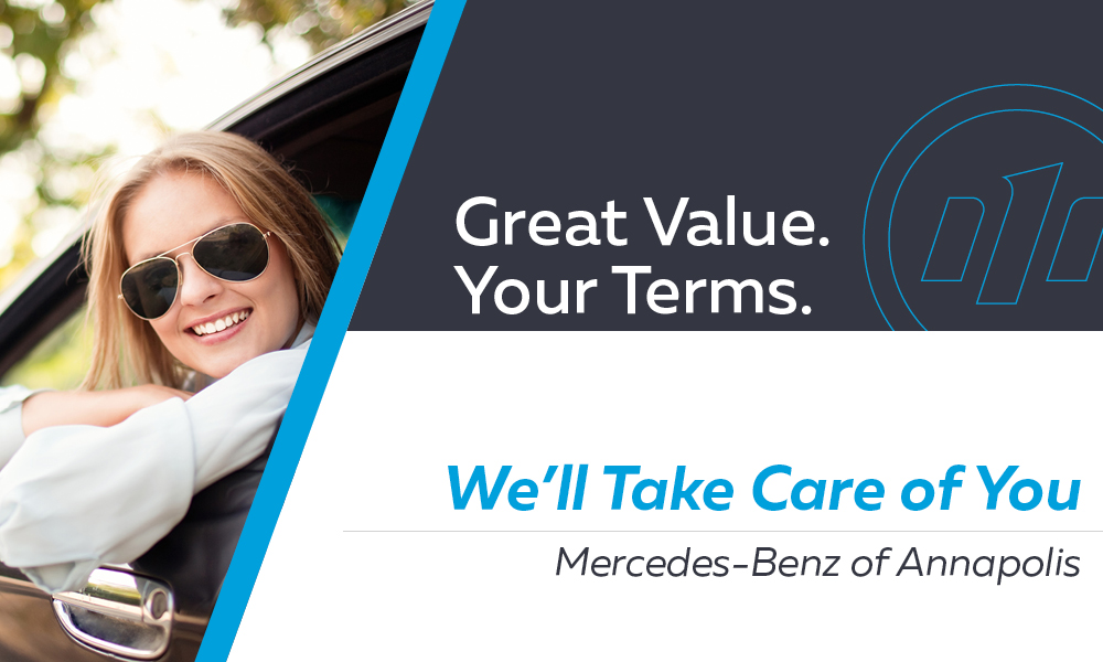 Mercedes-Benz of Annapolis - Great Value. Your Terms.