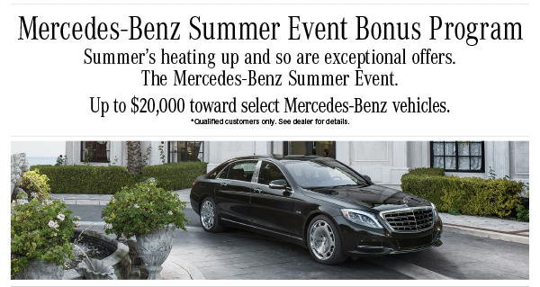 Mercedes benz of annapolis the mercedes benz summer for Mercedes benz of annapolis service