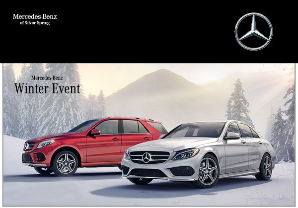 mercedes benz winter event continues at mercedes benz of silver spring. Cars Review. Best American Auto & Cars Review