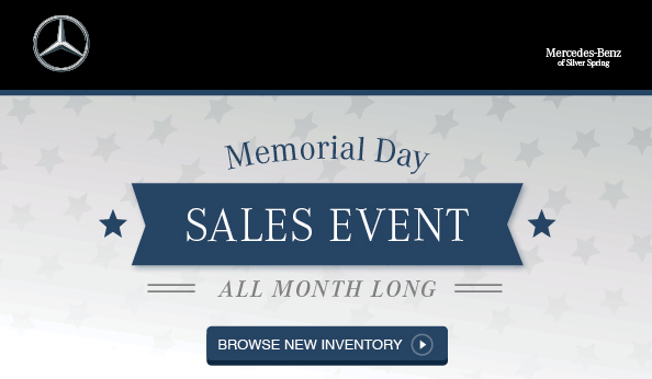 mercedes benz of silver spring starting now memorial day sales. Cars Review. Best American Auto & Cars Review
