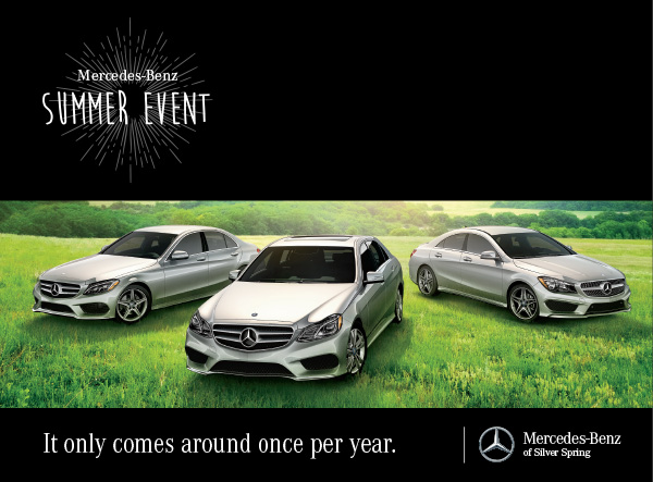 mercedes benz of silver spring mercedes benz summer event continues. Cars Review. Best American Auto & Cars Review