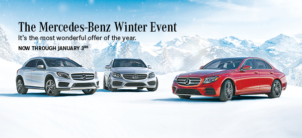 mercedes benz of silver spring the mercedes benz winter event ends. Cars Review. Best American Auto & Cars Review