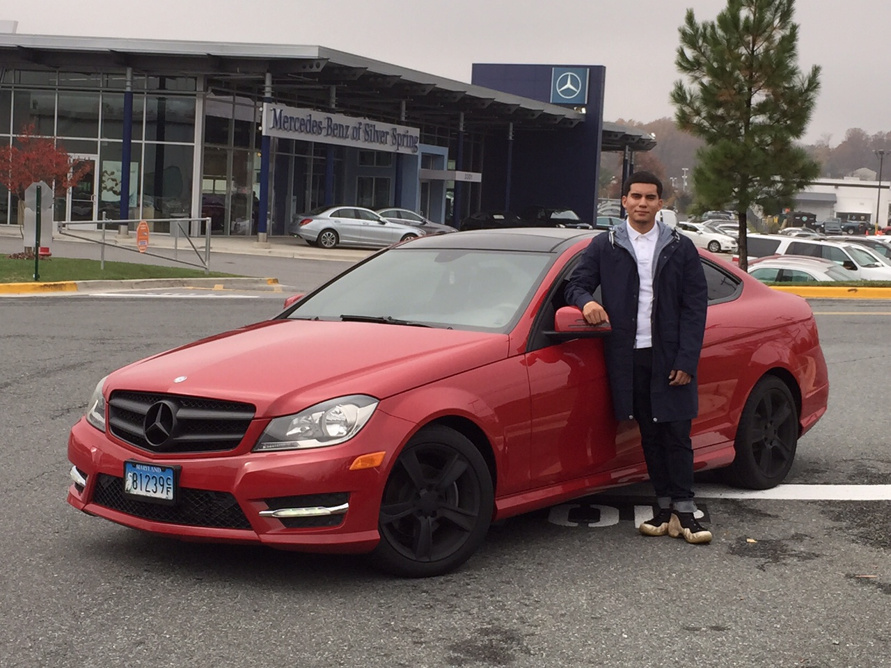 Mileone corporate omar cruz for Mercedes benz of silver spring md