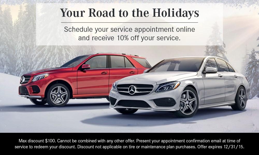 December newsletter for mercedes benz of annapolis for Mercedes benz of annapolis service