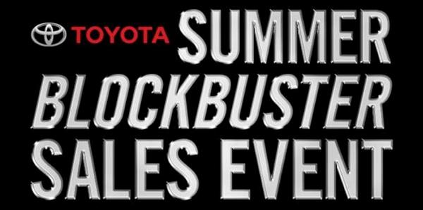Summer Blockbuster Sales Event