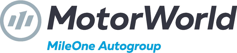MotorWorld | MileOne Autogroup Logo