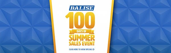 Balise 100 Days of Summer Sales Event