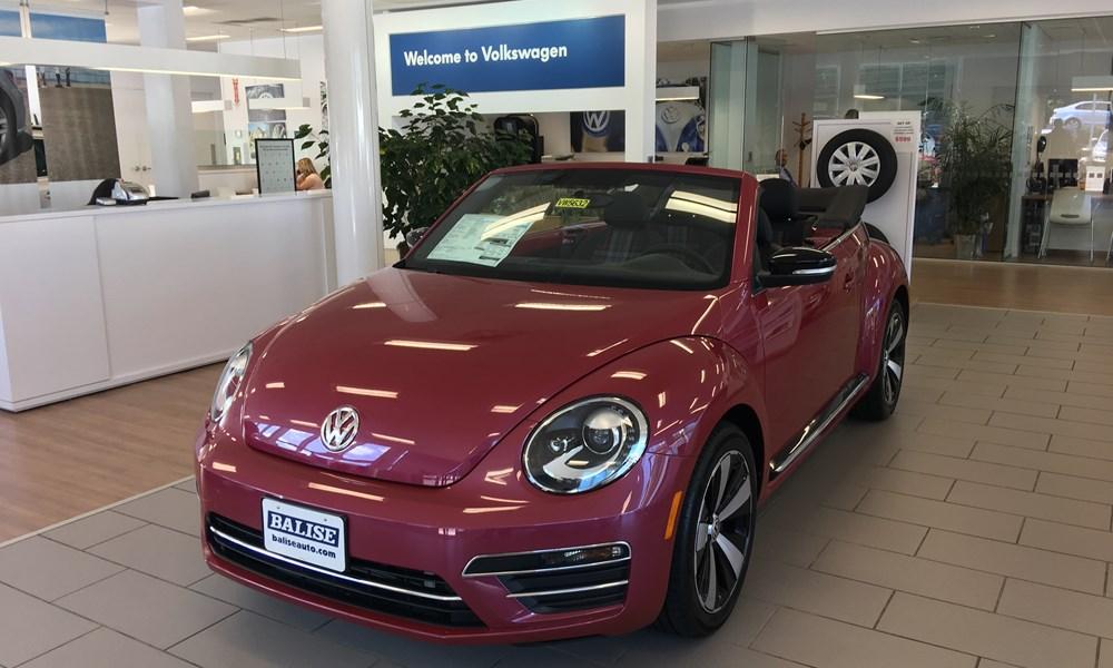 VW Pink Beetle