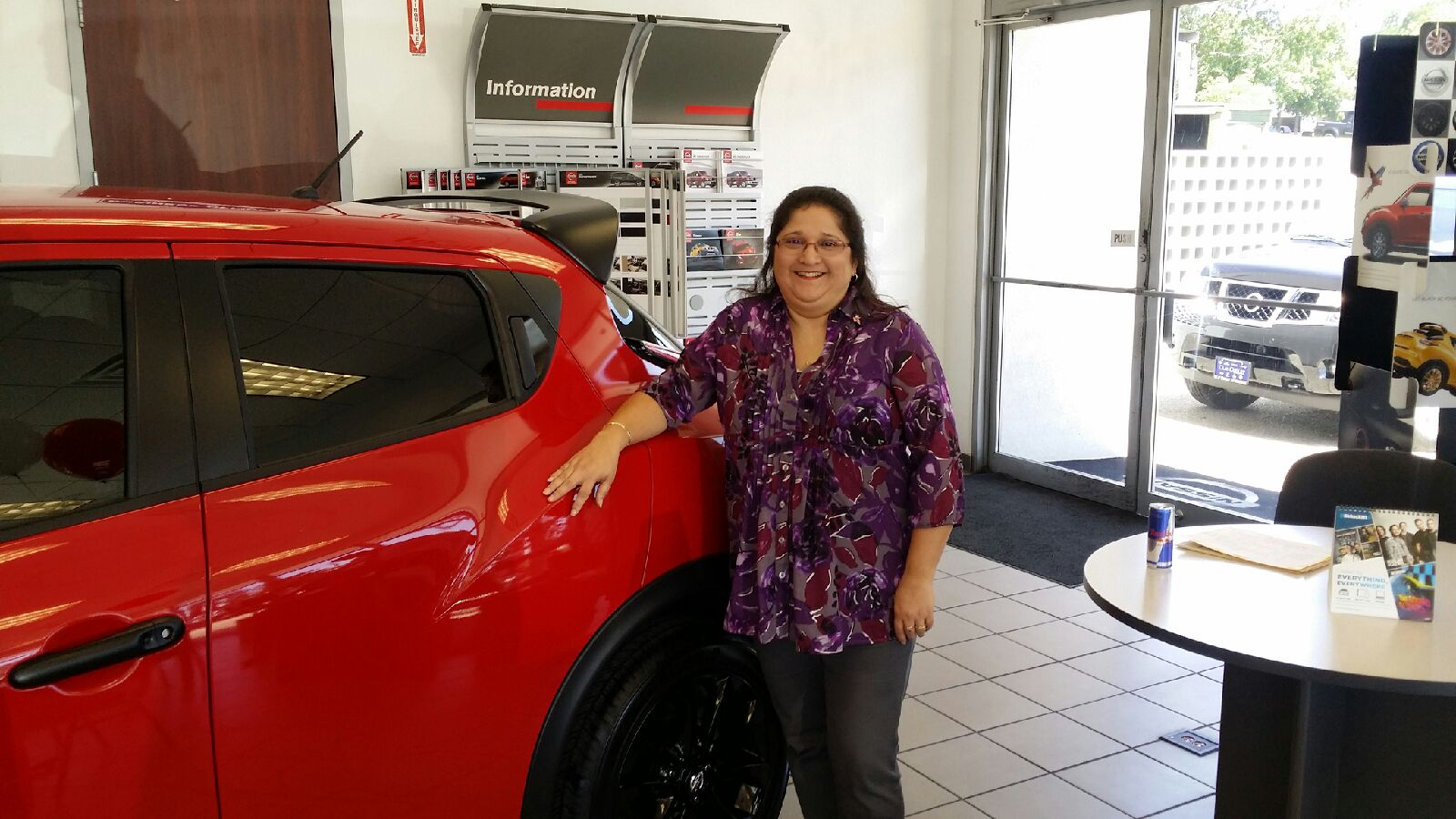south austin nissan employee of the month mary austin office manager. Black Bedroom Furniture Sets. Home Design Ideas