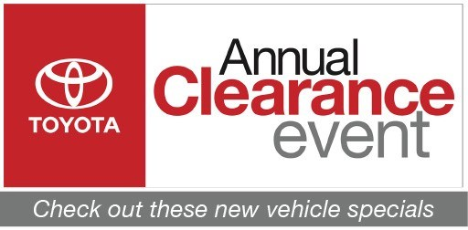 annual clearance event