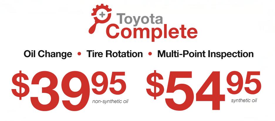 Toyota Complete Service