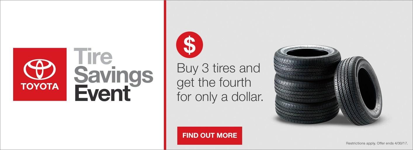 Tire Saving Event