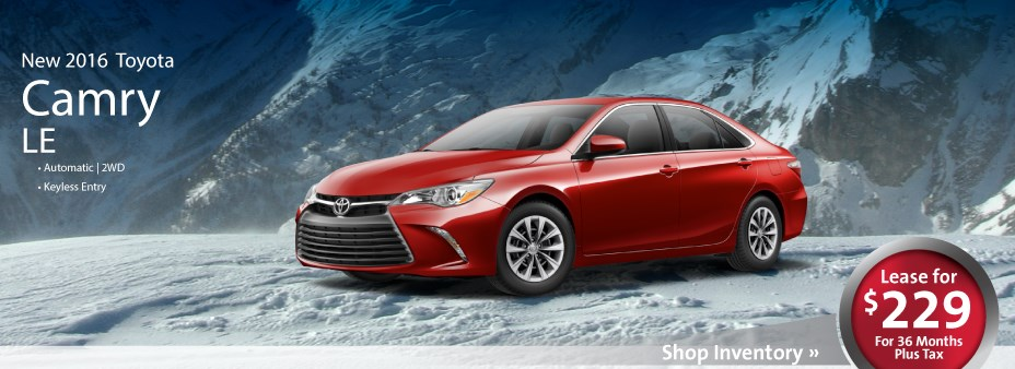 Camry Lease Promo