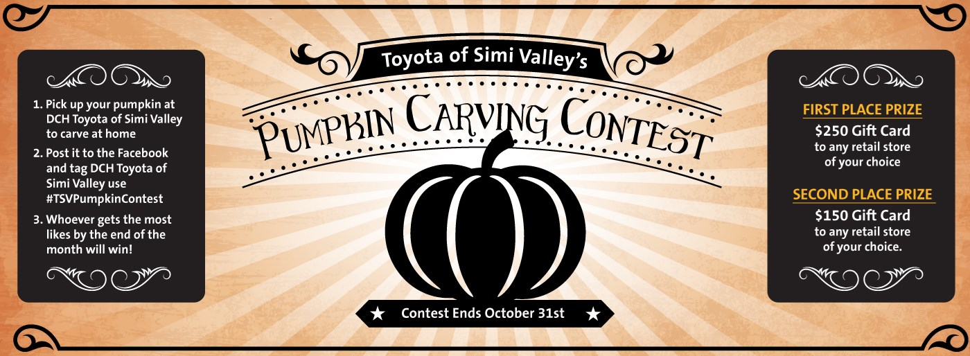 DCH Toyota Simi Valley Pumpkin Carving Banner