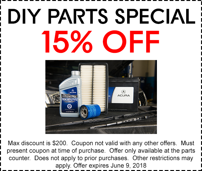 Service & Parts Coupons