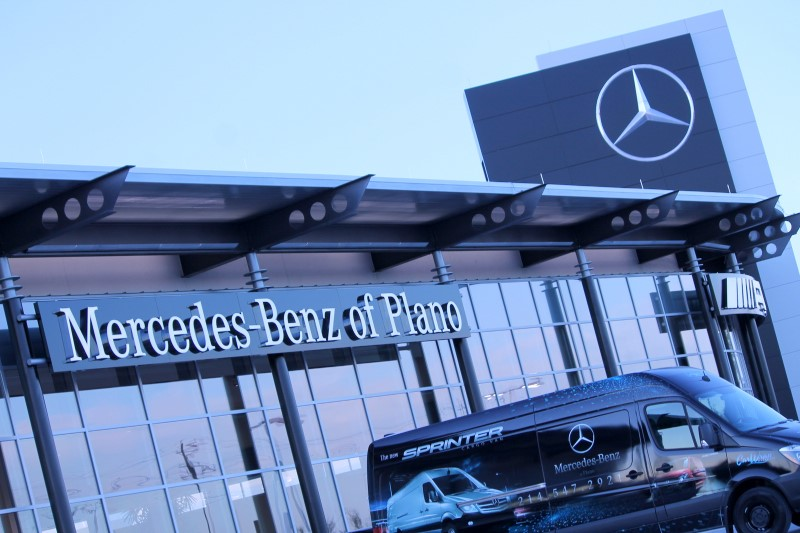 Mercedes benz of plano mercedes benz of plano expands to for Mercedes benz dealership plano texas