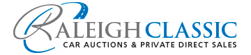 Raleigh Classic Car Auctions Logo