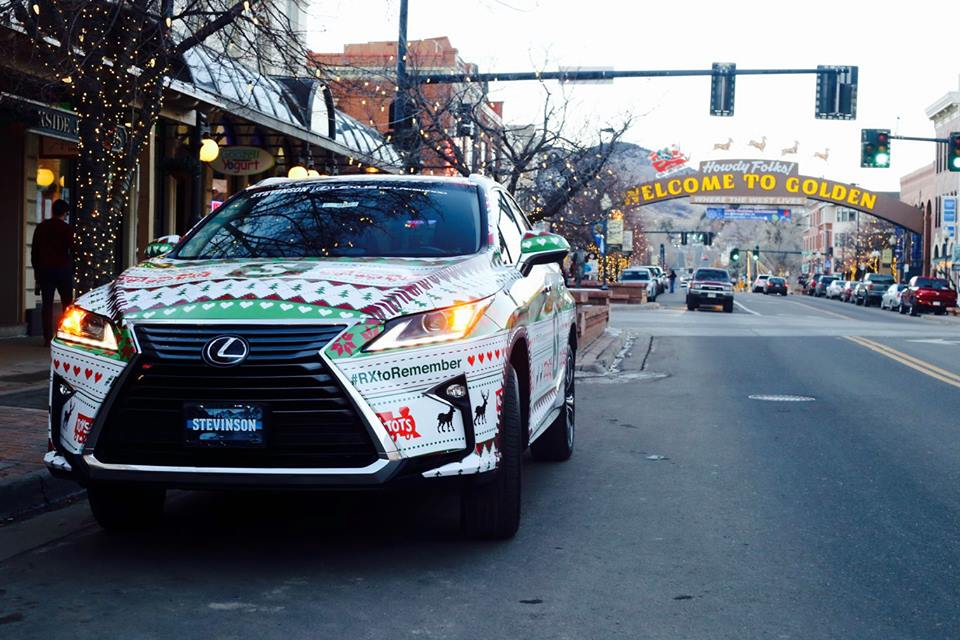 Our 2016 Lexus RX Vehicles Are All Wrapped For The Holidays! Stevinson Lexus  Of Frederick And Stevinson Lexus Of Lakewood Are Official Donation Centers  For ...