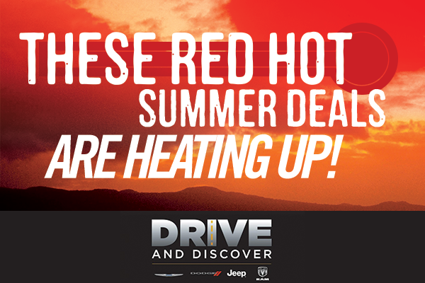 These red hot summer deals are heating up!