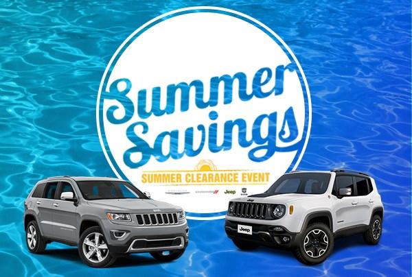 Summer Savings Topcap Parkway CDJR