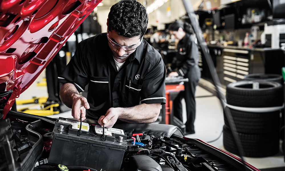 Mercedes-Benz Battery Replacement
