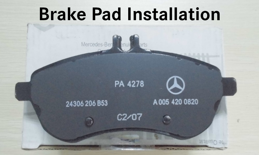 Brake pad replacement installation for Mercedes benz of south atlanta service coupons