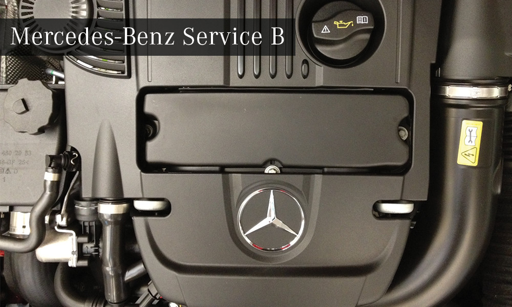 Mercedes benz service b special offer for Mercedes benz service discount