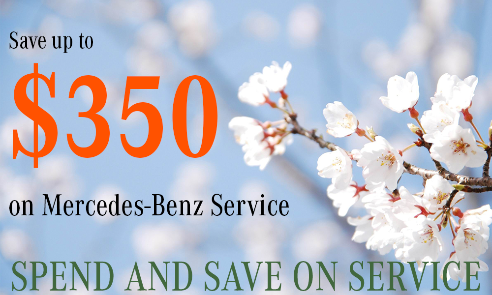 Spend and save on mercedes benz service for Mercedes benz service discount