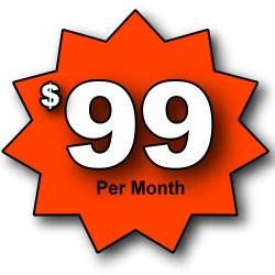99 a month