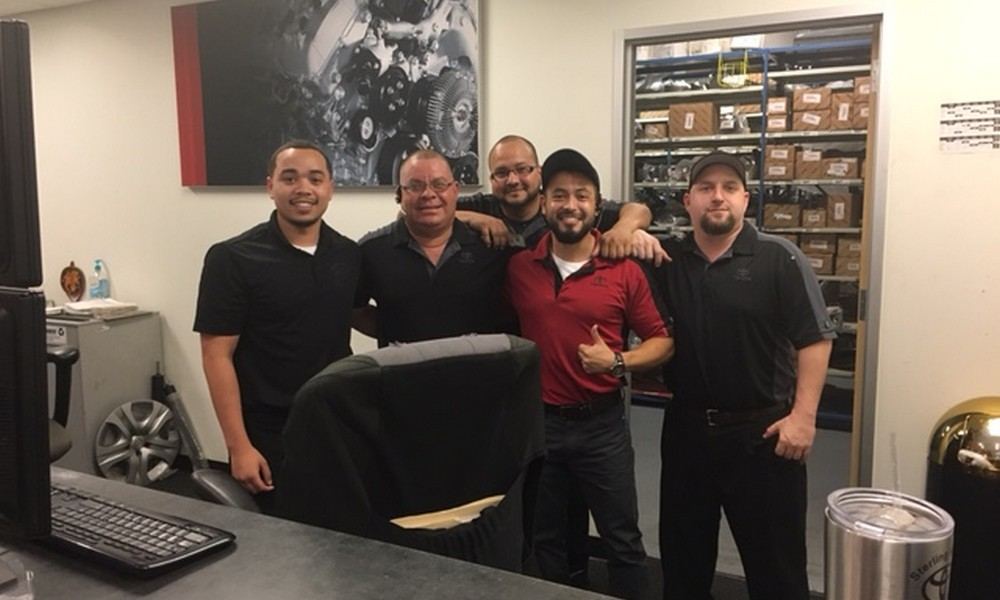 Nice This Month, Sterling McCall Toyota Is Proud To Spotlight Our Friendly  Retail Parts Counter Personnel. From Left To The Right In The Picture  Above, ...