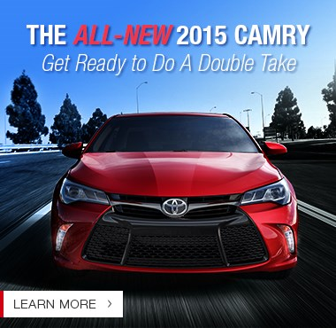 All-New 2015 Camry