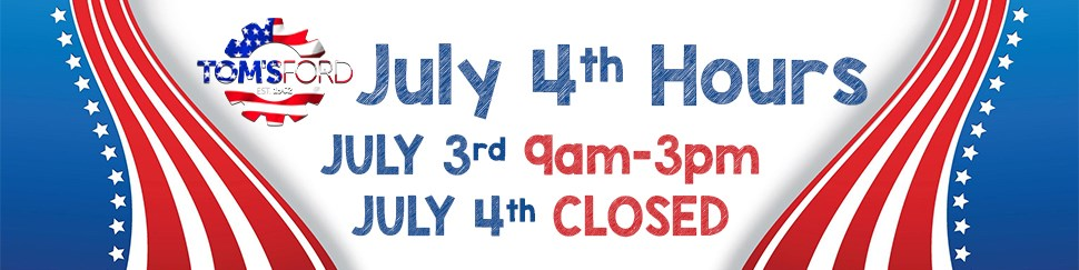 July 4th Hours