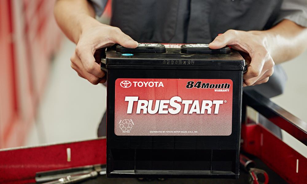 Toyota Service battery TrueStart