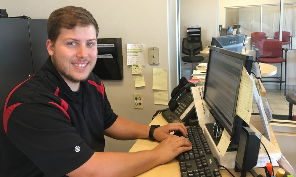 jamie watson is our newest service writer for express service - Service Writer